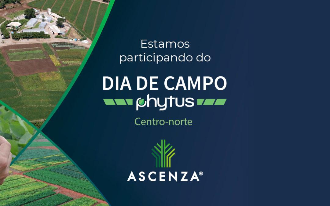 ASCENZA participa do Dia de Campo Phytus